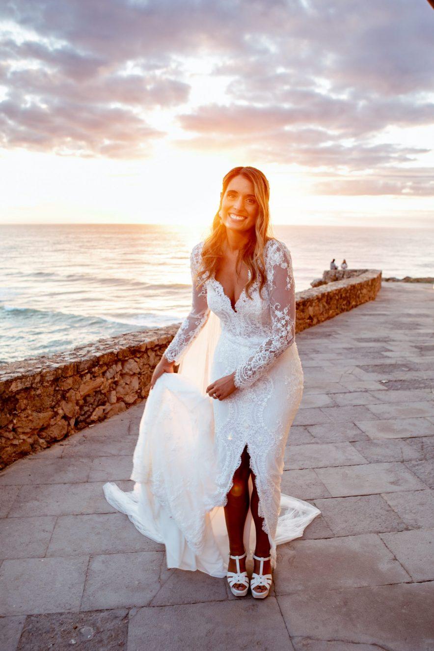 Beach wedding lisbon